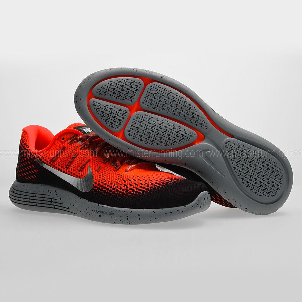 Best Drop Shipping Nike Lunarglide 8 Mens running shoes Reddish brown