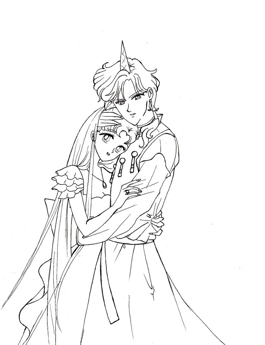 Princess chm and helios by ladymako on deviantart chibi sailor moon coloring pages