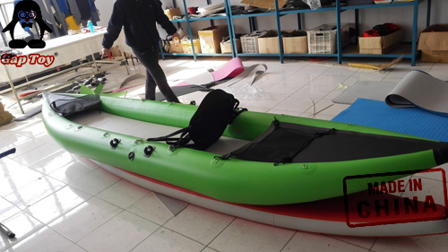 Mint Green Inflatable Fishing Kayaks For Sale