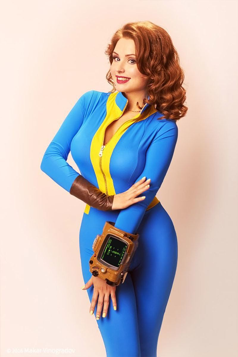 Amazing Vault Girl Cosplay - Fallout | Cosplay | Fallout ...