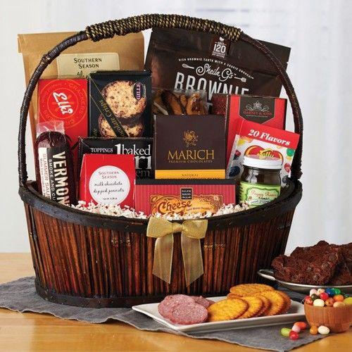 SOUTHERN SEASON'S - CAROLINA FANCY FOODS BASKET Fancy Foods, Gift Baskets, Southern, Sympathy