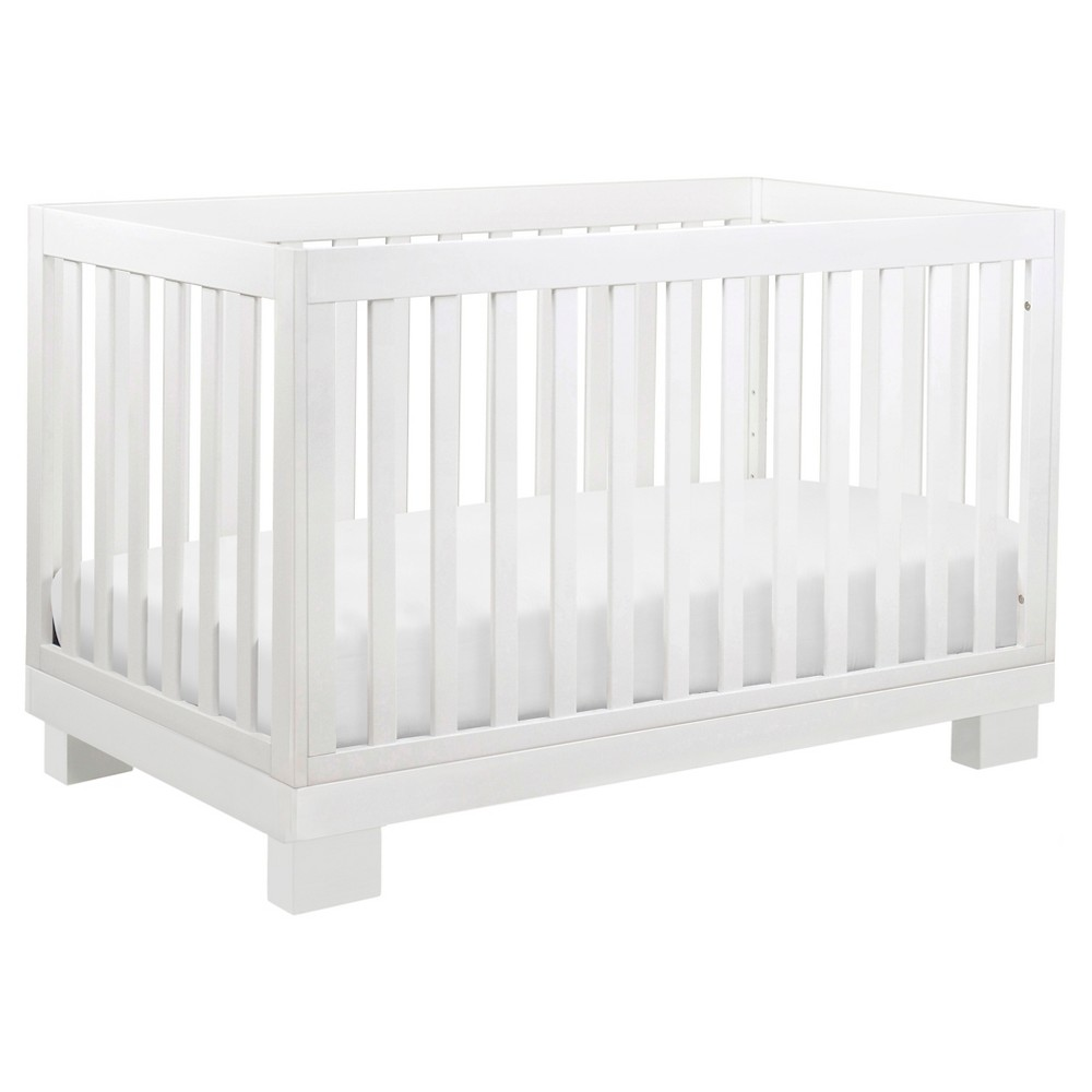 Nursery Accent Wall Babyletto Espresso: Babyletto Modo 3-in-1 Convertible Crib With Toddler Rail