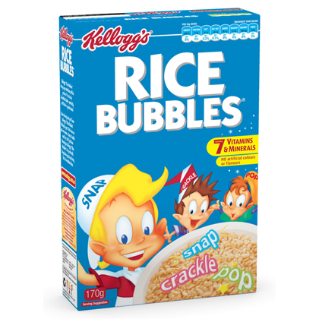 how to make rice bubble crackles
