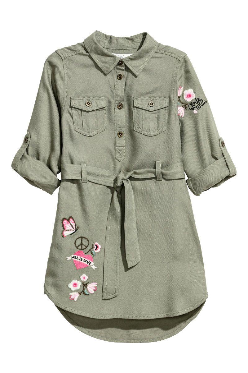 38beee604 Shirt Dress with Belt