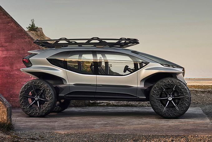 Audi AI:TRAIL Quattro Electric Vehicle | HiConsumption #conceptcars #concept #cars #electric