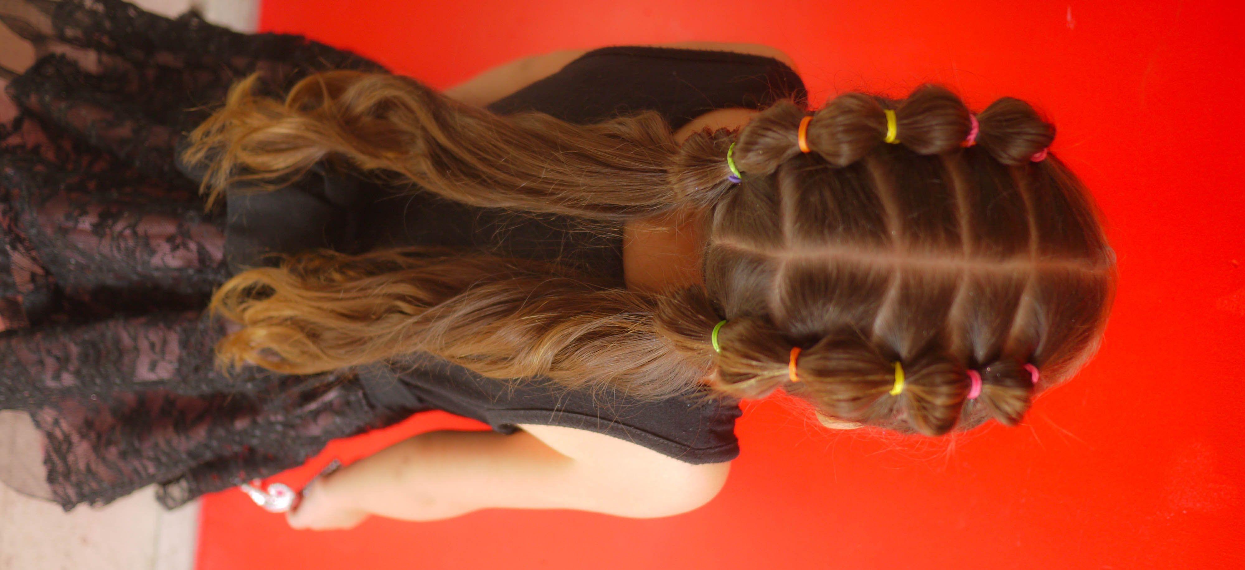 Peinado fácil para niña easy ponytails for girl peinados