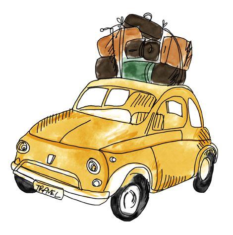 Fiat 500x City Look Caricature Car Art MUG