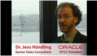 Auf dem Youtube Channel unserer Kollegen aus der Systemberatung finden Sie technische Kurzpräsentationen aktueller Themen bei Oracle. http://www.youtube.com/user/DTCCpotsdam