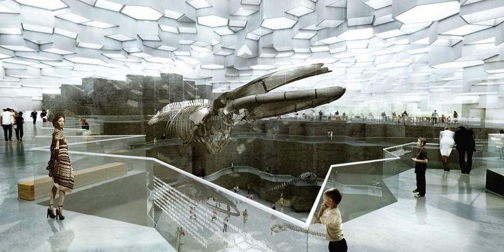 RENDER Concept Interior Gallery MUSEUM INTERIOR DESIGN