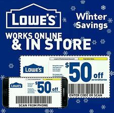 3x Lowe S 50 Off 250 Printable Online In Store Exp 01 06 17