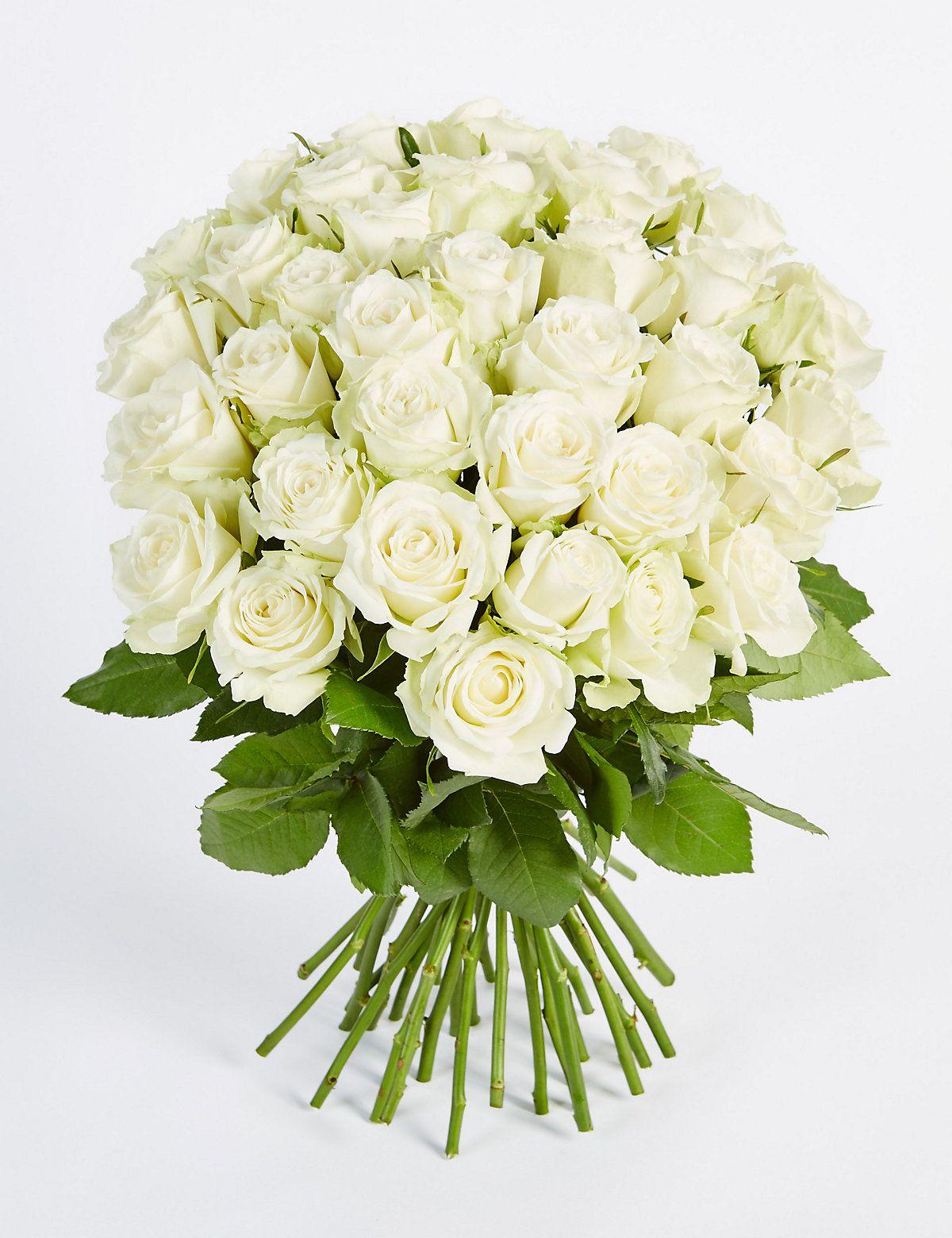 Classic Roses White Arreglos Florales Pinterest