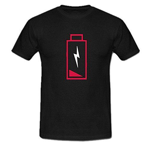 Low Energy T Shirt for Mens T-Shirt Color Black Veramons…
