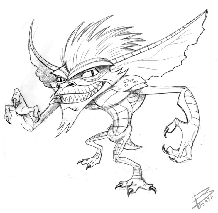 GREMLINS (sketch) by beprata on deviantART Inspiration Pinterest - fresh angry birds go jenga coloring pages