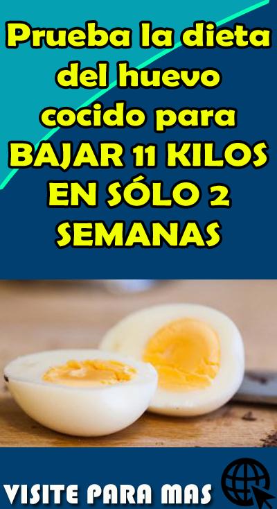 dieta de huevo cocido