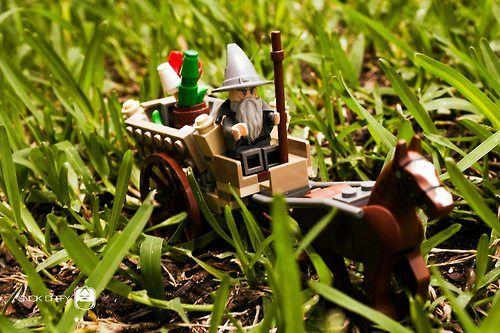 Lego Lord Of The Rings Gandalf El Señor De Los Anillos Figuras De Acción