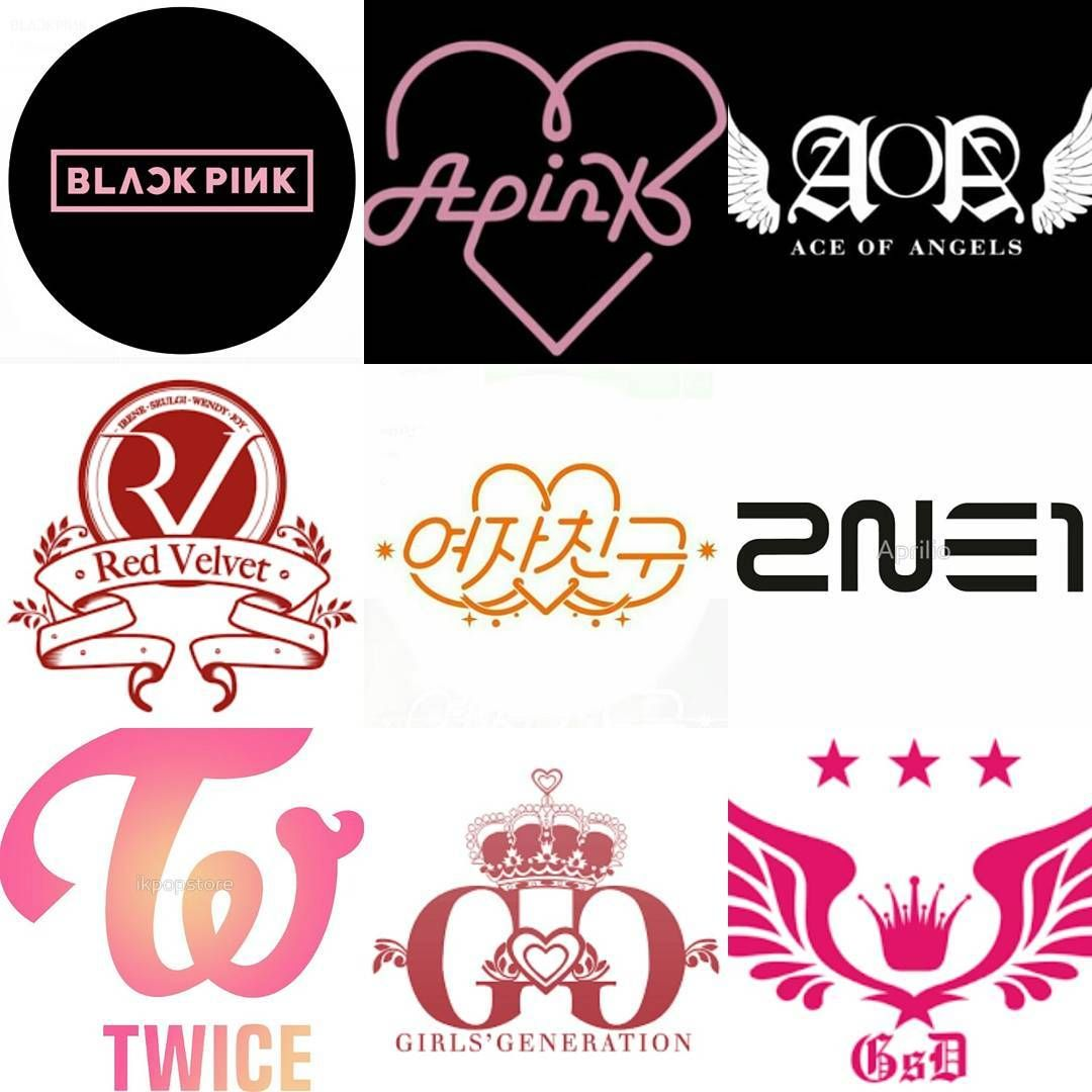 new battle for the best logo girl groups blackpink apink