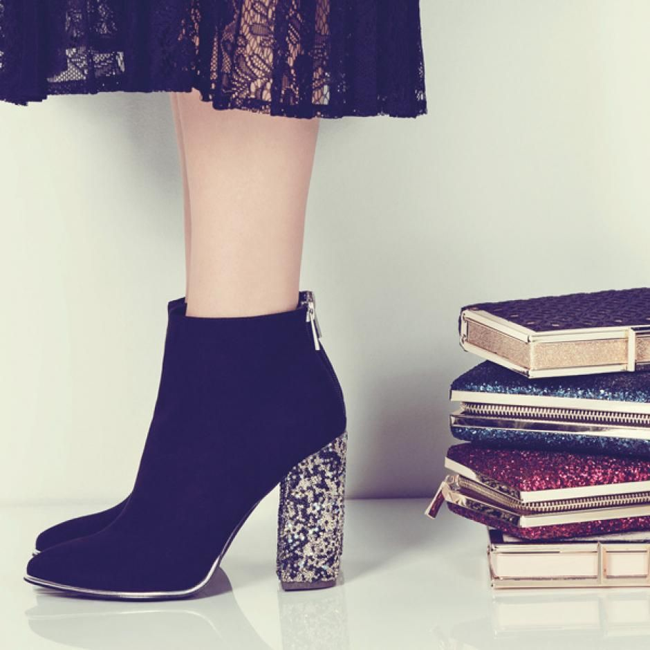 Glitter boots / shoes