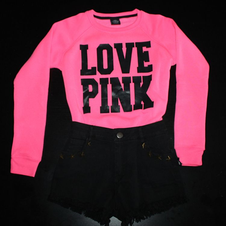 VS Love Pink Hoodies Sweatshirts Cotton VICTORIA-inHoodies ...