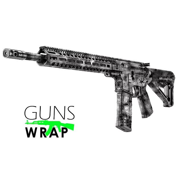 Pin Na Doske Ar 15 M4 Camo Gun Wrap Rifle Skins