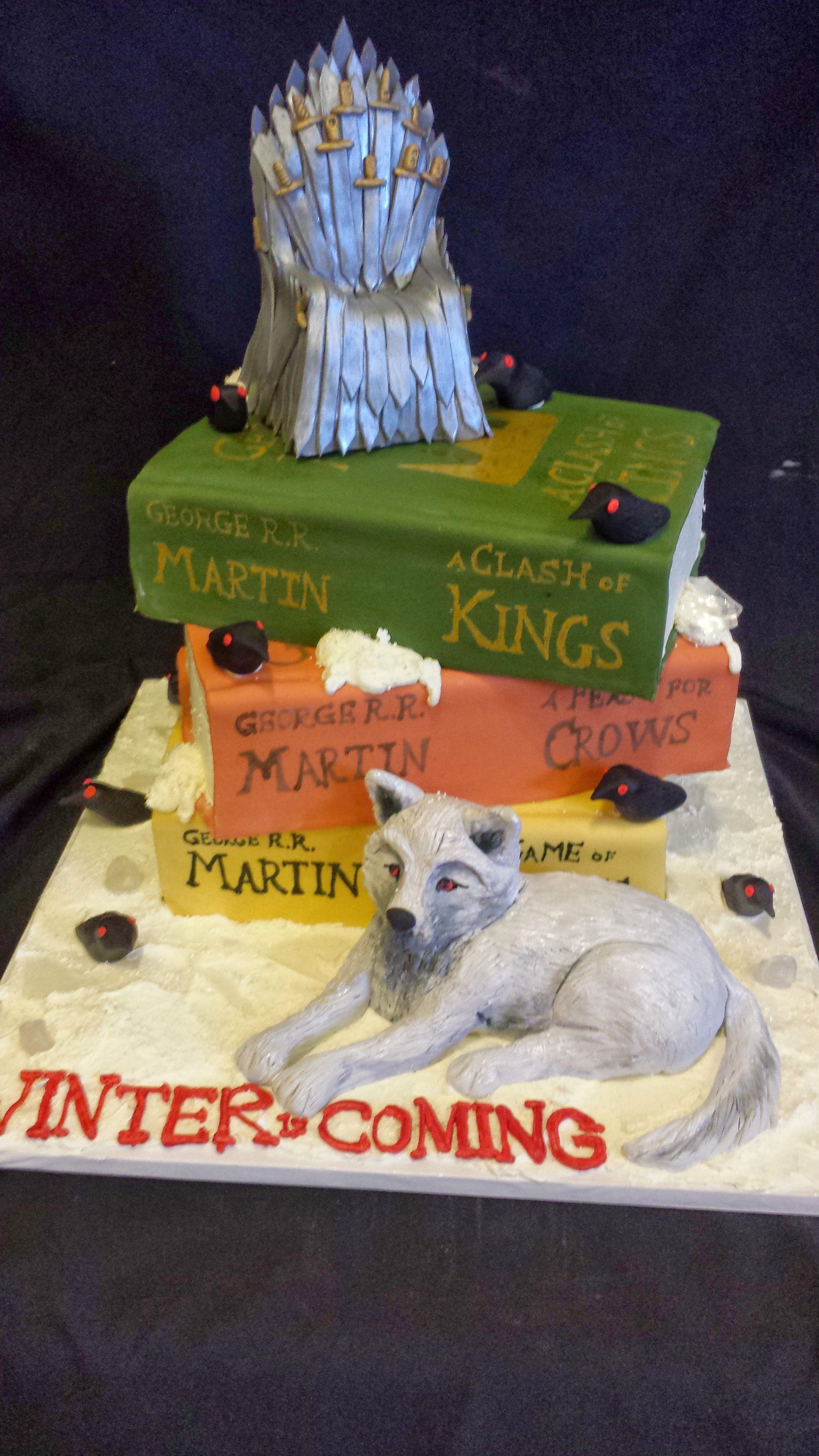 Short North Piece of Cake Columbus Ohio Game of Thrones Cake