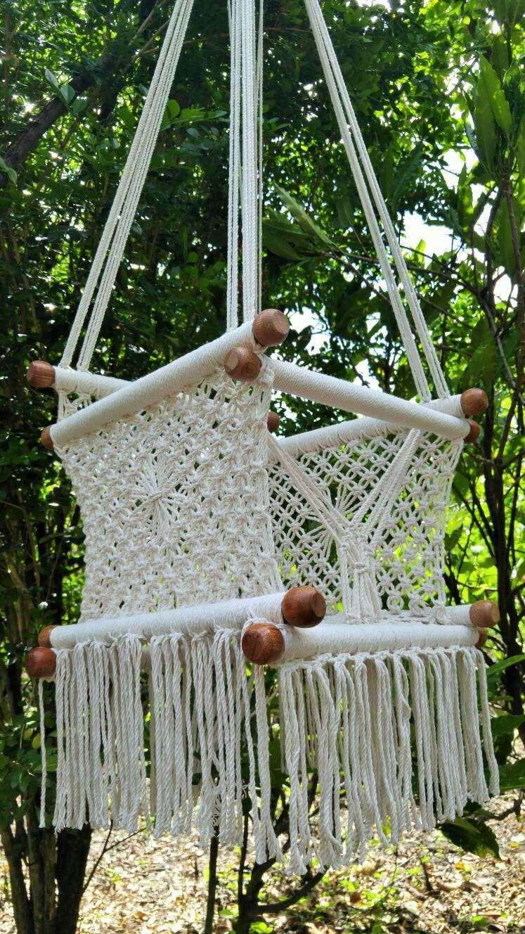 Baby hammock swing chair macrame by hammocksnica on etsy