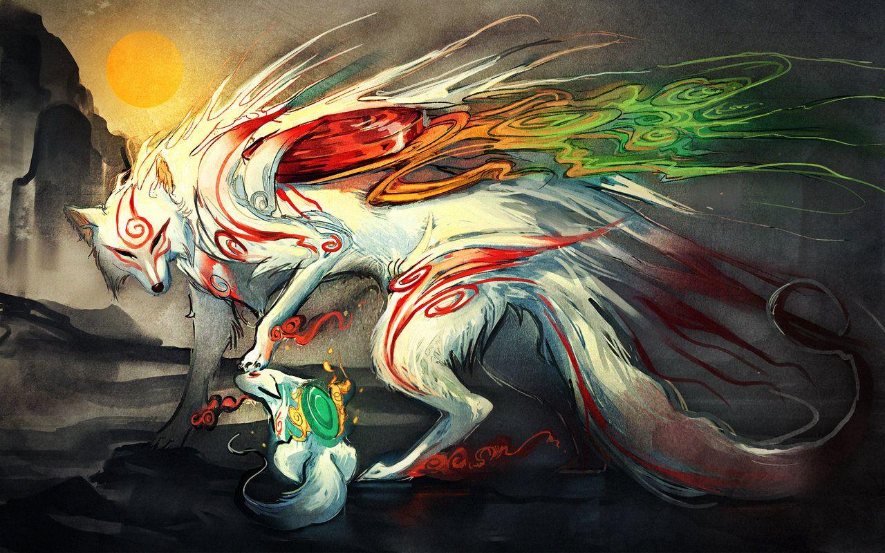 Mythical Creatures I Wish Were Real Okami, Amaterasu