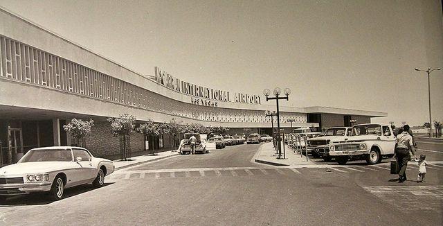 Mccarran International Airport Las Vegas Nv 1970s Vintage Las