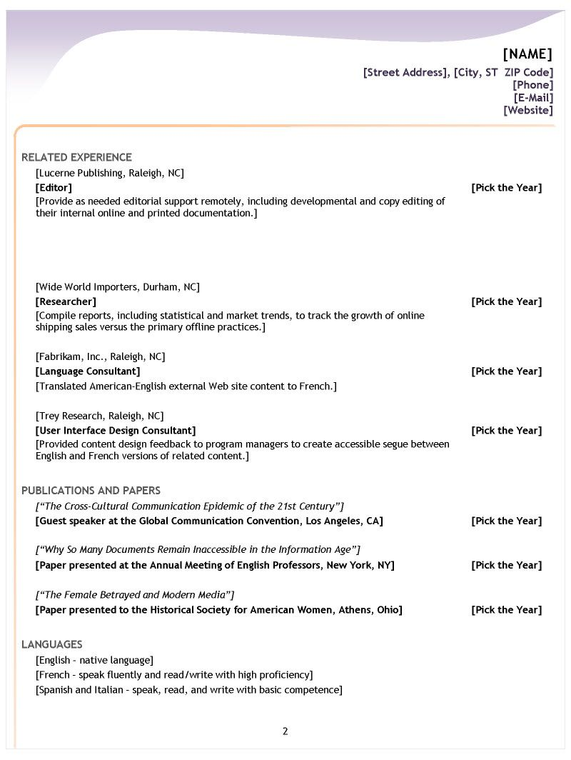 Resume Advice Classy Difference Between 48 Main Resume Formats And When The Should Be Used