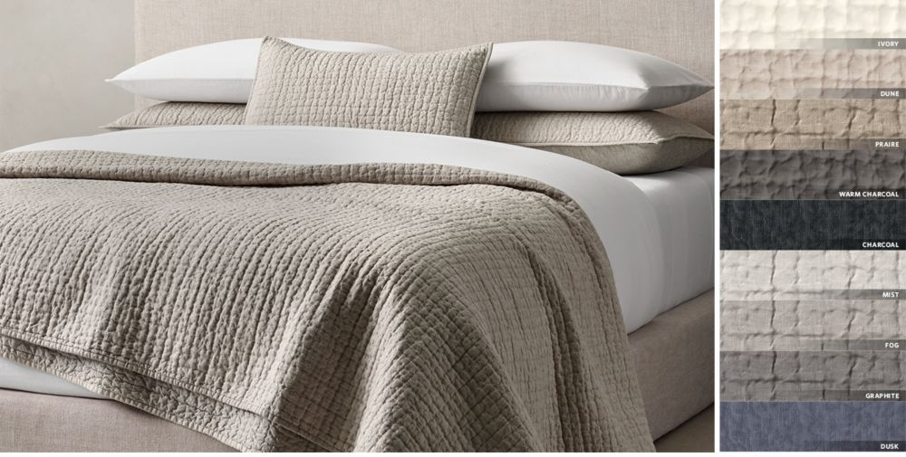 Quilts Coverlets Rh Coverlet Bedding Bedroom Styles
