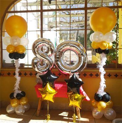 Decoracion de fiesta de los a os 80 buscar con google decoracion con globos pinterest - Decoracion fiesta 80 anos ...