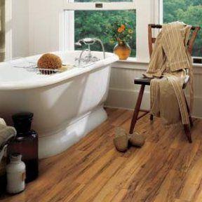 Laminate Vs Hardwood Engineered Wood Tile Carpet Vinyl Pros And Cons Flooring Rustic Wood Floors Laminate Flooring Bathroom