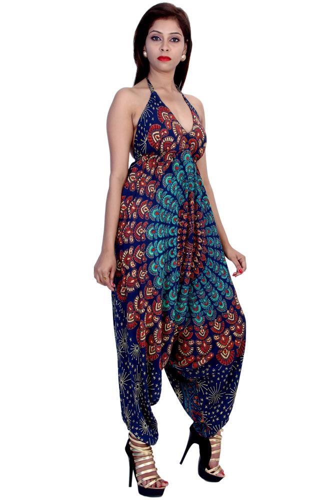 a4a9a09e1ef4 Indian Fashion Palazzo Jumpsuit