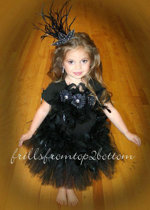 Black Swan Costume For Kids