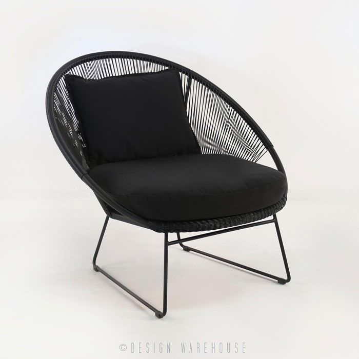 beautiful relaxing furniture. Natalie Outdoor Relaxing Lounge Chair  Black Chairs