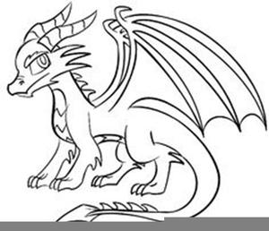 30+ Dragon Clipart Black And White