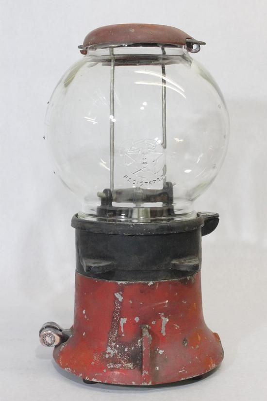 Vintage Gumball Machine About