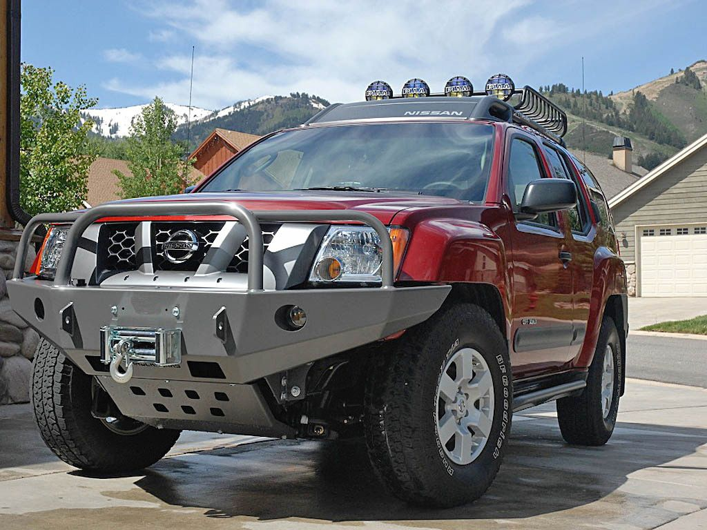 95 best xterra images on pinterest 4x4 offroad and nissan shrockworks xterra front bumper for gens this is what the short bus needs but powder coated black vanachro Choice Image