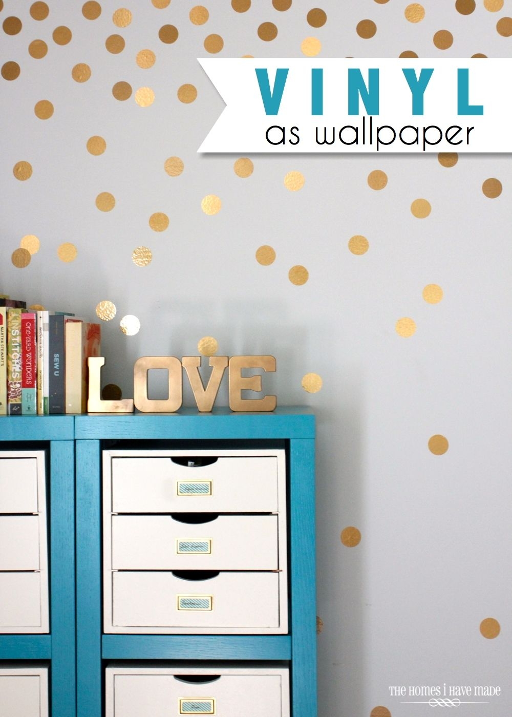4 Creative Ways to Use Vinyl on Your Walls! : Apartment Living Blog