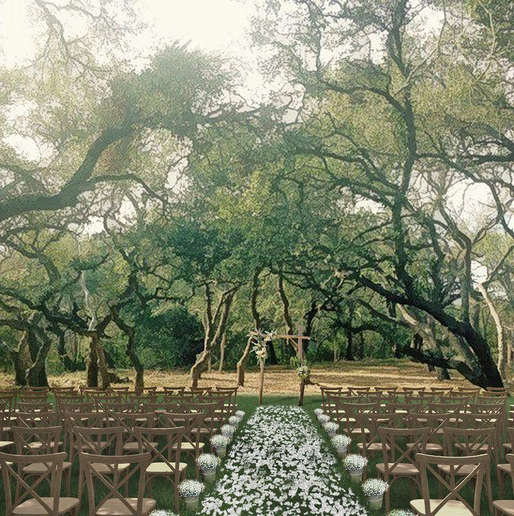 The Addison Grove Austin, TX Venue Grove Ceremony Site