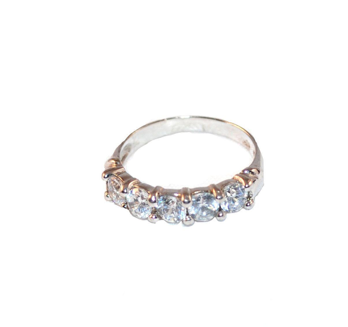 Faux Diamond Wedding Ring Size 7 Products Pinterest Diamond