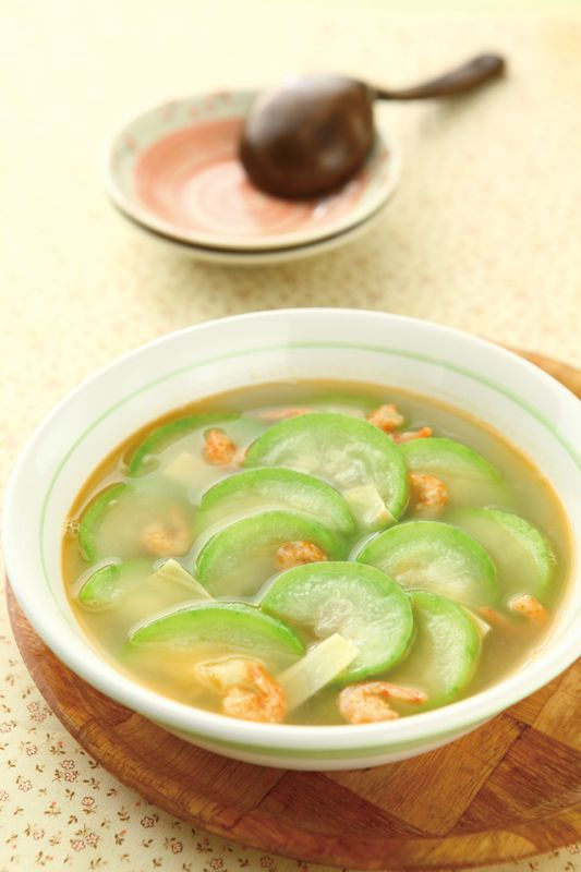 Taiwanese Loofah Soup Recipe In Chinese Taiwanese Chinese Food In