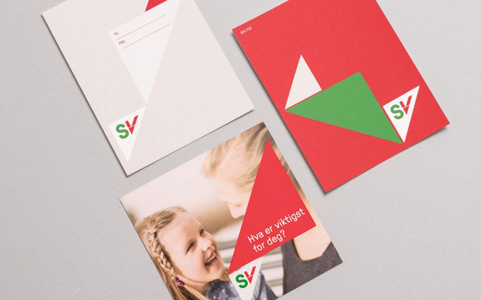 Socialist Left Party Of Norway Branding Branding Design Identity