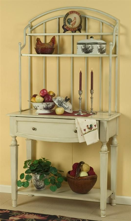 Bakers Racks With Storage Classic Baker S Rack With Storage