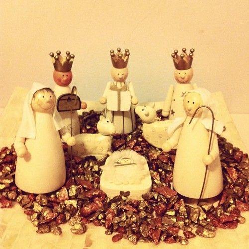 My nativity scene home deco inspiration christmas for Weihnachtsideen dekoration