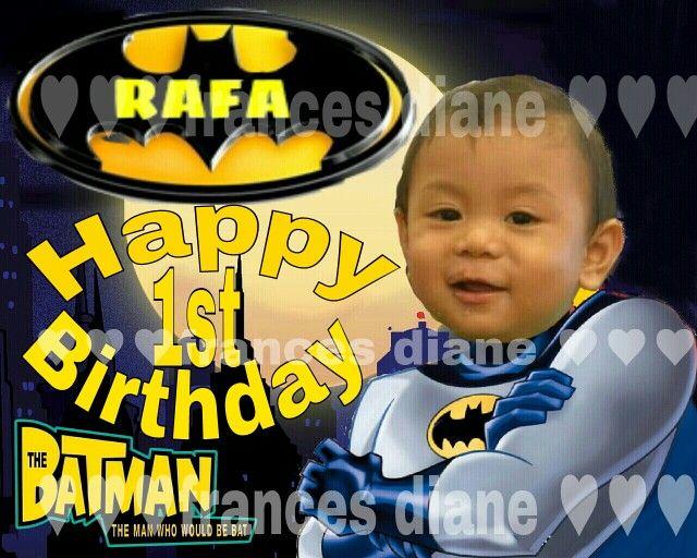 Batman Birthday Rafaunangkaarawan