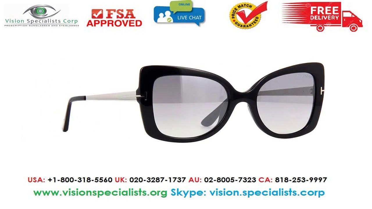 9d9f8bb770cc Tom Ford Gianna 02 TF609S 01C Sunglasses Tom Ford Sunglasses