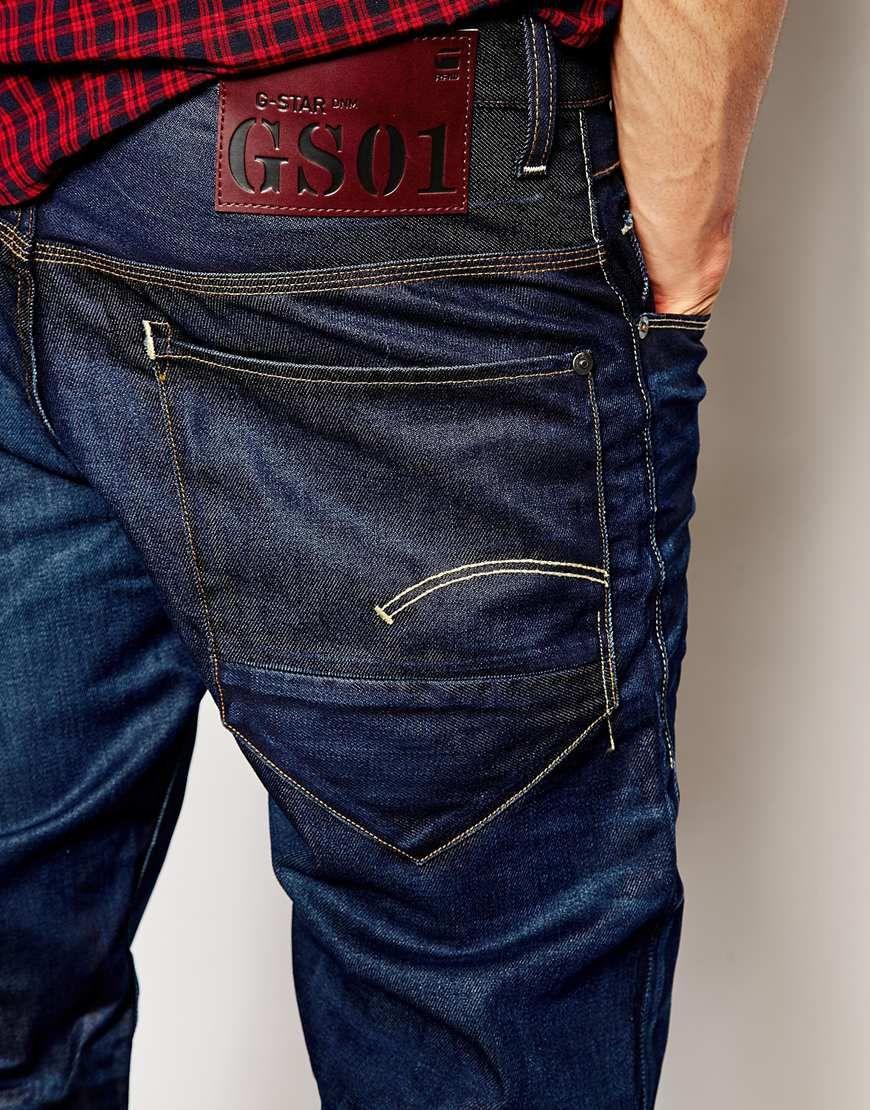 g star jeans new radar low loose dark aged back pocket denim details pinterest. Black Bedroom Furniture Sets. Home Design Ideas