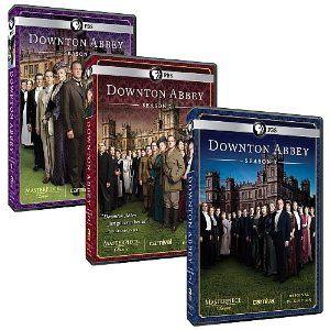 Amazon Com Masterpiece Downton Abbey Complete Seasons 1 2 3