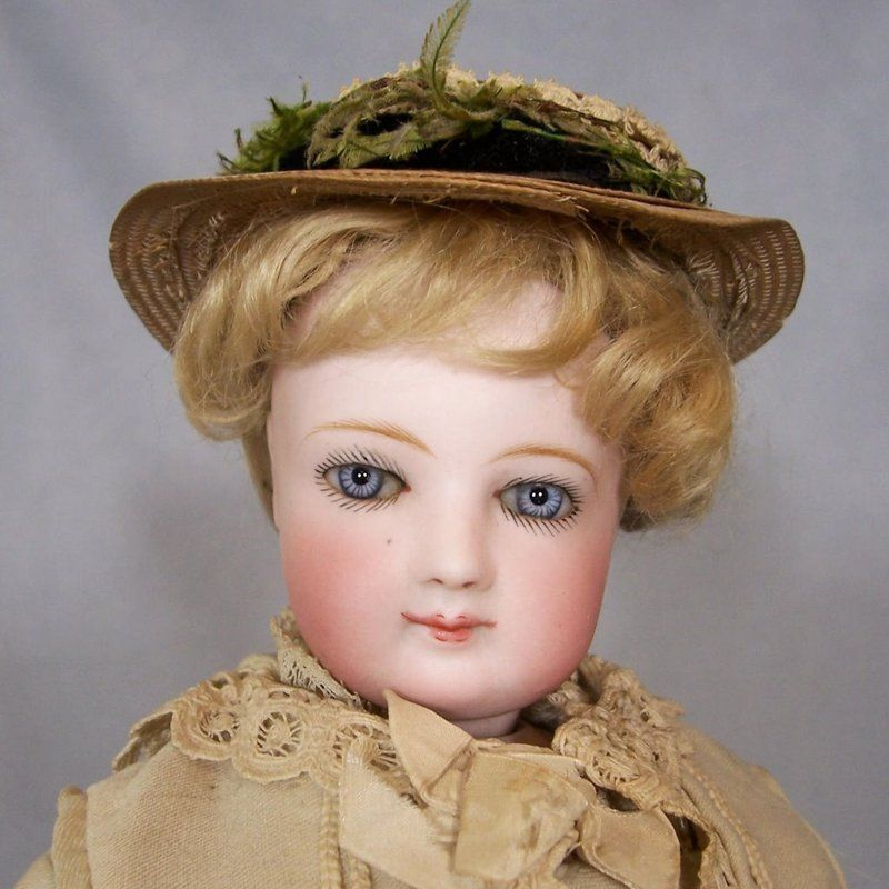 """SOLD - 17"""" Simonne French Fashion - All Antique"""