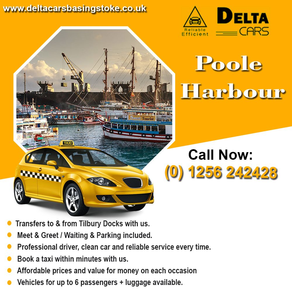 Poole Harbour Private Hire Taxi Services Delta Cars in